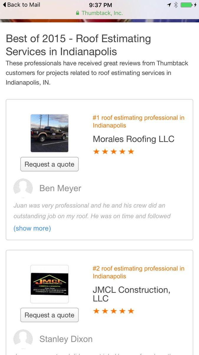 Morales Roofing Llc Juanmor53786839 Twitter