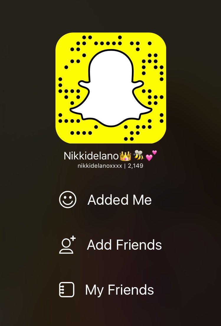 Snapchat Nikki Delano nude photos 2019