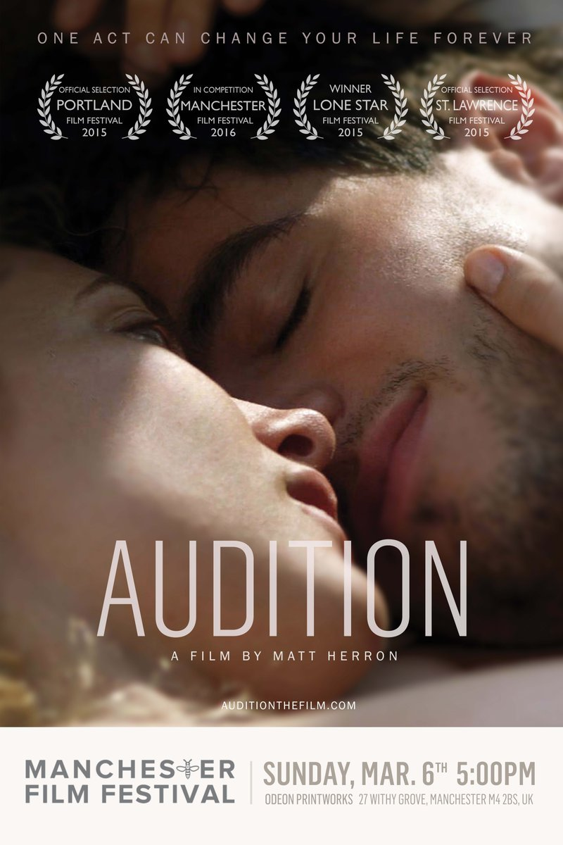 AUDITION INTERNATIONAL PREMIERE MARCH 6TH @ManIFF2016 https://t.co/3J9KN7oPf1 @milesperhour_ https://t.co/WbvUT2QRpg https://t.co/3Hm3FaAIUv