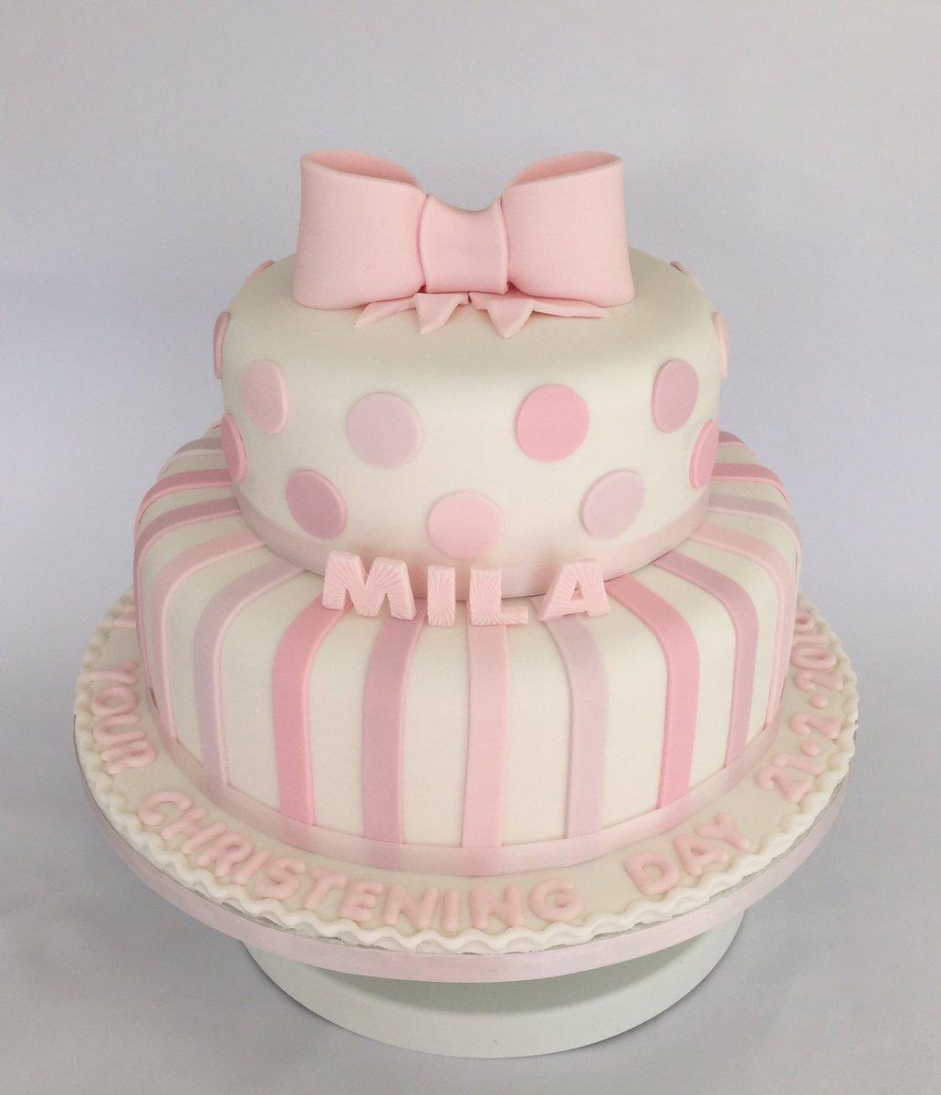 yum yum tummy rumble on twitter 2 tier baby girl christening cake