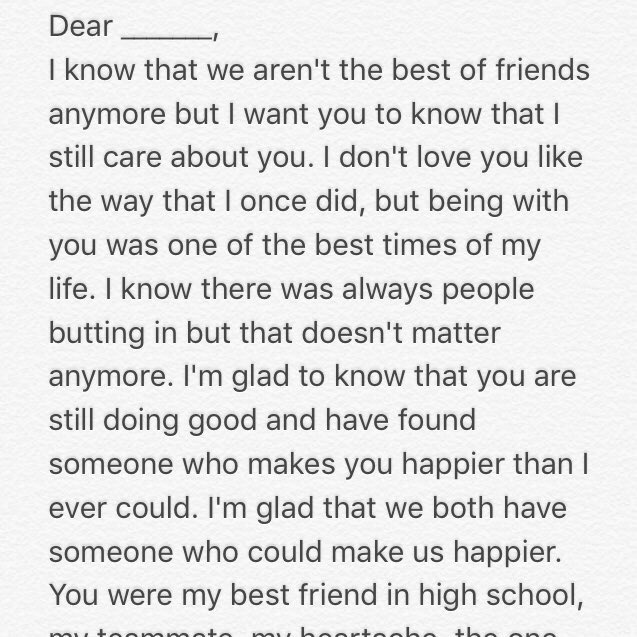 letter to my ex best friend letters to my ex letterstomyex 23231 | CbuQwH0UAAEBkHy