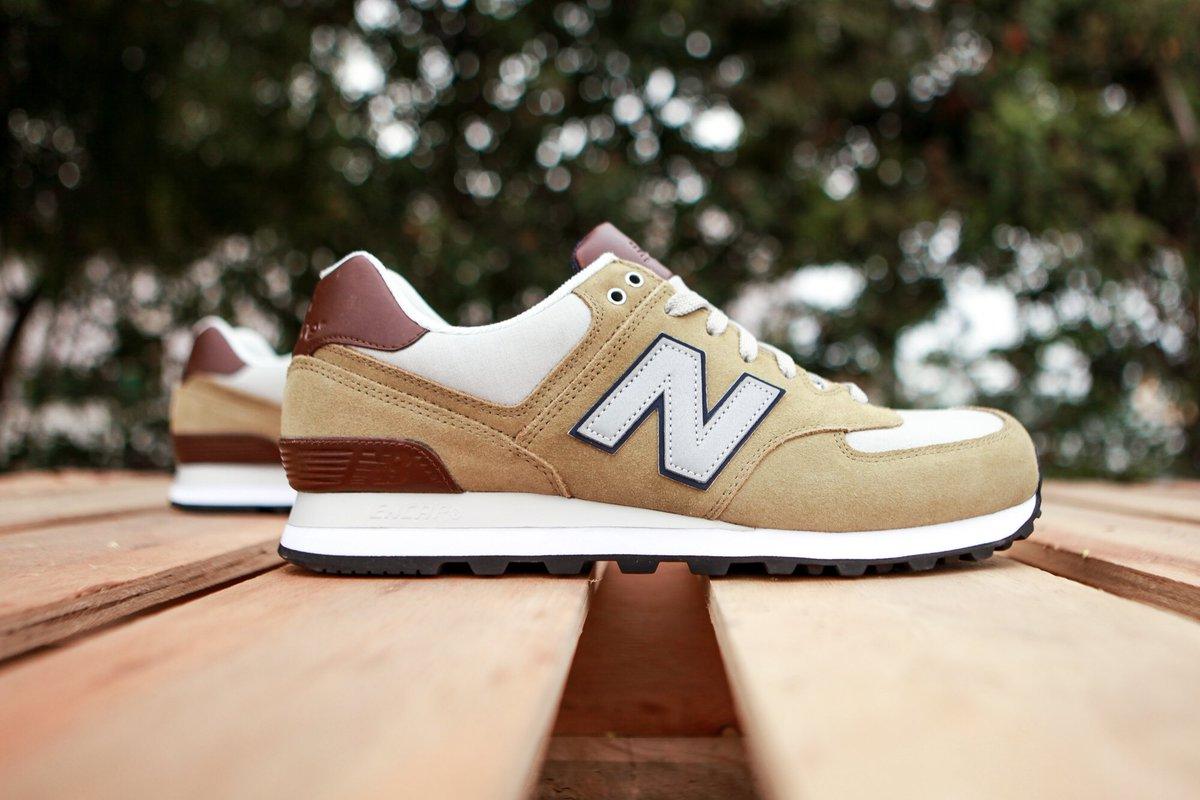 new balance 574 green brown