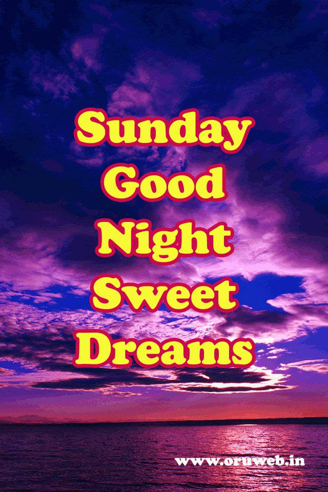 Unique Happy Sunday Good Night Images Soaknowledge