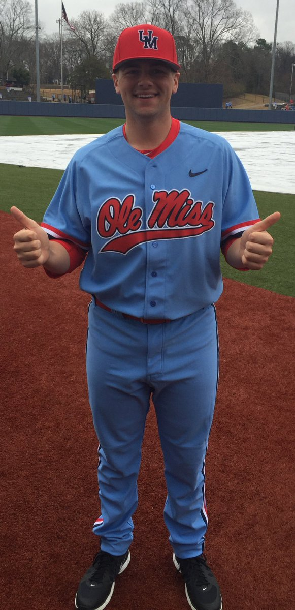 factory authentic b50cb 479ee Ole Miss Baseball on Twitter: