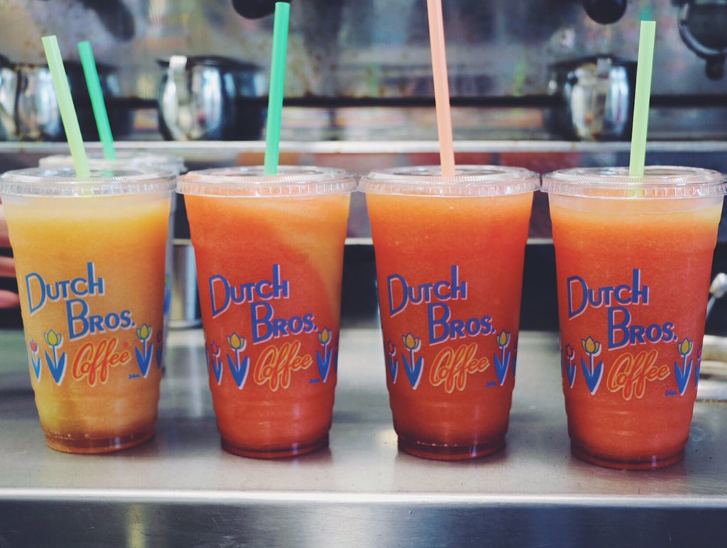 Red Bull Drinks At Dutch Bros