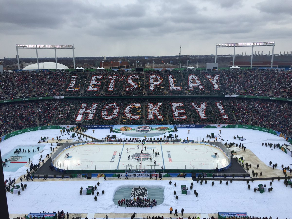 It's Hockey Day in America from the State of Hockey on @NHLonNBCSports https://t.co/F5F9XWQ1DS