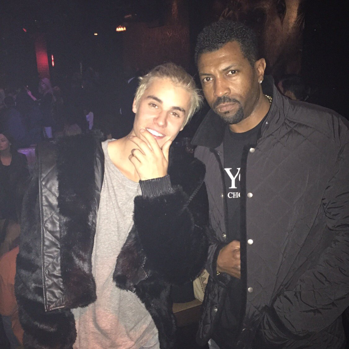 Cooling with the kid @justinbieber last night, Hollywood nights spinning baby! #deoncoleslaw #justakidfromthechi https://t.co/3jzULMQm3K