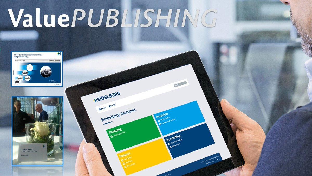 #Heideldruck: #Print übernimmt Schlüsselrolle im Digitalzeitalter! #iot #BigData #drupa https://t.co/zvtCQrbZdZ https://t.co/0GhJl9y95h