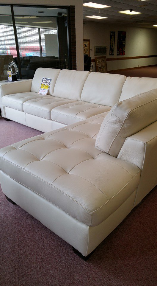 #shopping #Passyunk Ave Lowest price on #Natuzzi white leather #sofas Now $2595.00 $1400 Off! Call Now 215-468-6226pic.twitter.com/kmOjsnY47H : natuzzi white leather sectional - Sectionals, Sofas & Couches