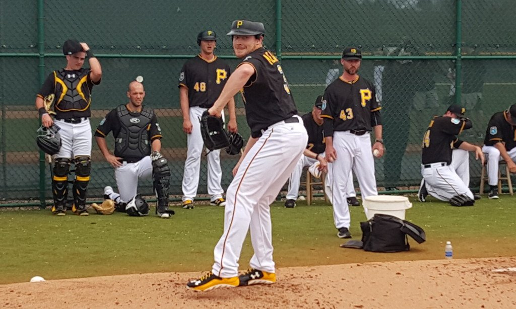 0034c6c5e Pirates Prospects (@pirateprospects). How Many Pitchers Will Wear a Weird  Looking Helmet For Extra Safety?