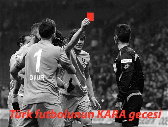 Türk futbolunun KARA gecesi https://t.co/Iv6LoB0lU4