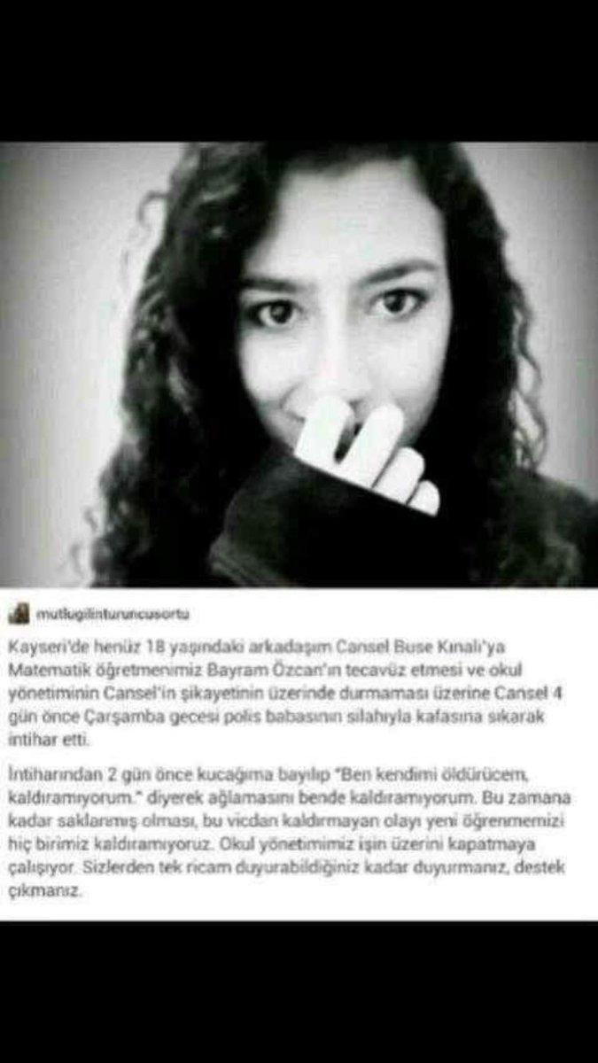 Bayram Özcan şerefsizi!Türkiye senin tecavüzcü bir katil olduğunu biliyor!Herkes paylaşsın! #canseliçinsusma https://t.co/NZ7RnjbDeU