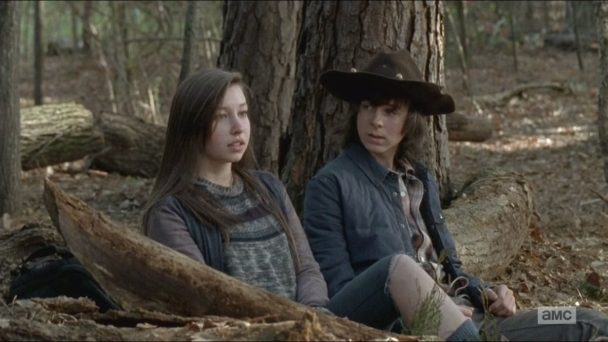 carl and enid meet the parents