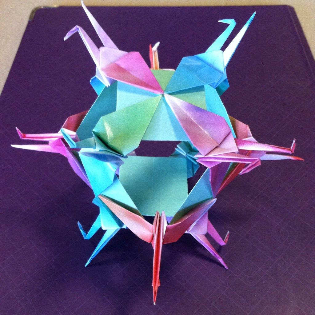 Star Sonobe by Maria Sinayskaya — Instructions   Go Origami   1024x1024