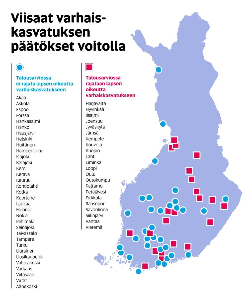 Oaj على تويتر Paivitetty Varhaiskasvatus Kartta Viisaat