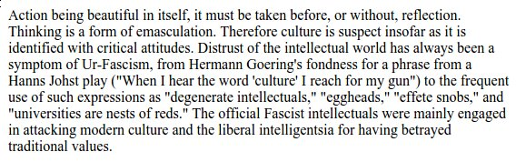 In 1995, Umberto Eco listed fourteen signs of a fascist ideology: https://t.co/vV3NguMRg9 Still very useful. https://t.co/J5ZdIYBteQ