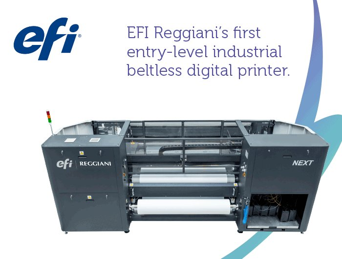 Print on fabrics and papers with the #EFIReggiani — join EFI booth E40 tomorrow in Amsterdam at FESPA! https://t.co/Ky9VOS7Hyk
