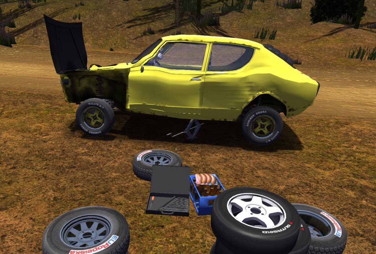 my summer car how to start game