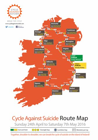 Map Of Quinn Ireland.Tricia Quinn On Twitter Waterford May 4th Offer A Bed To A Cyclist