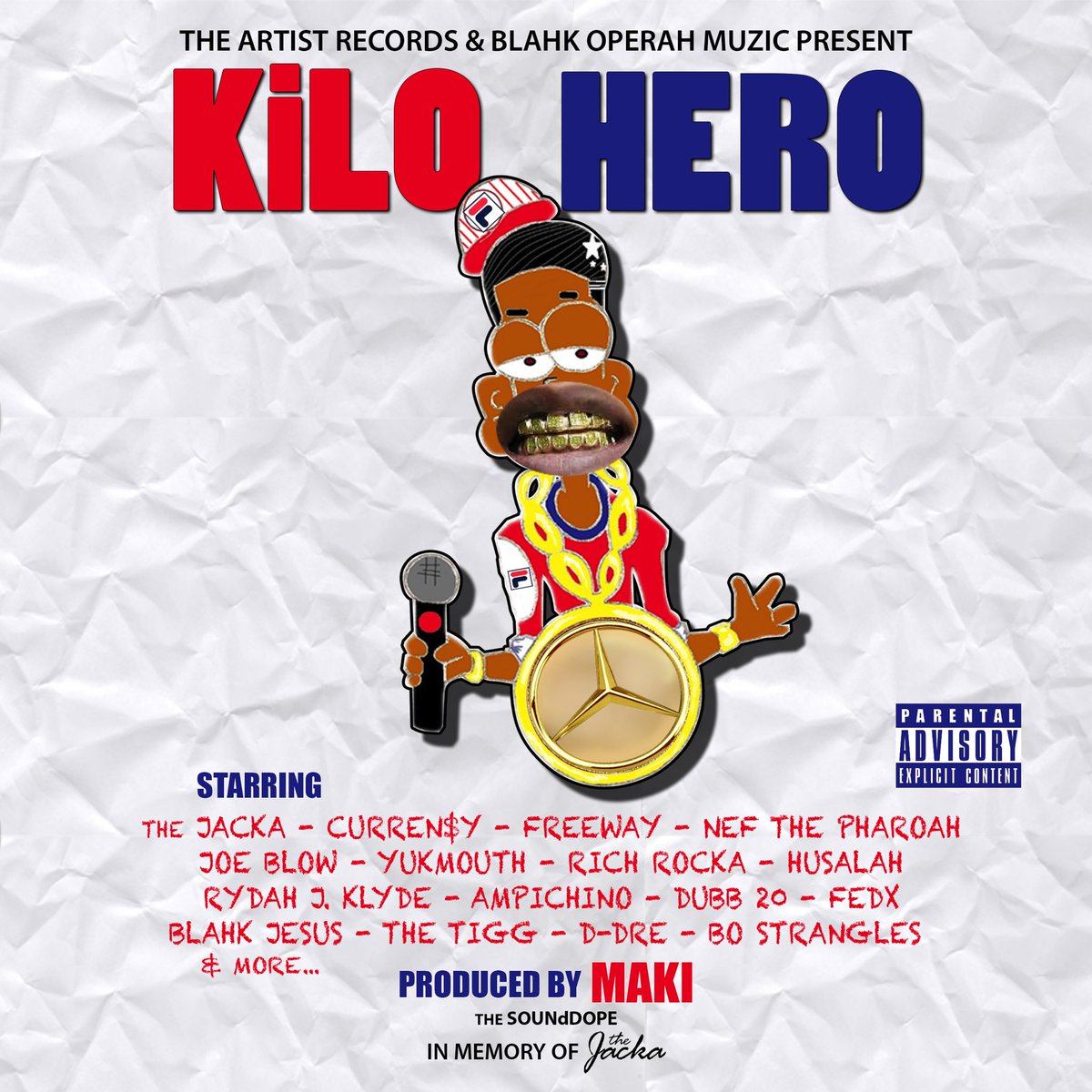 "*COMING April 2016* @ArtistRecords PRESENTS: @MakiSounddope ""Kilo Hero"" #BOMG #SoundDope #TheAR #MOB https://t.co/2ie5wGugzv"
