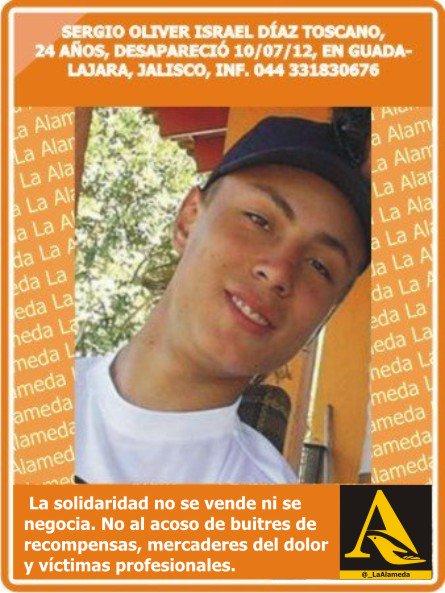 #Tebuscamos Sergio Oliver Díaz Toscano, 24 años, 10/7/12 #Guadalajara #Jalisco #Jal #Tonalá @gramodmusica https://t.co/Aexf5fcuQO