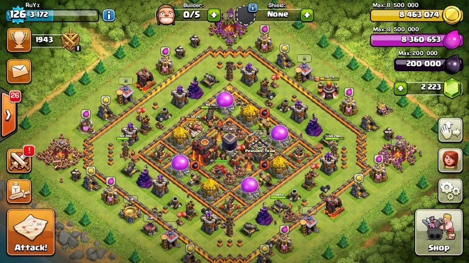 Dmitry On Twitter Th10 Lvl129 Max Aq Bk Walls War Troops Max Wall Lvl 11 Max Inferno Tower Max X Bow Max Hidden Tesla Https T Co Ubwt6zxbct