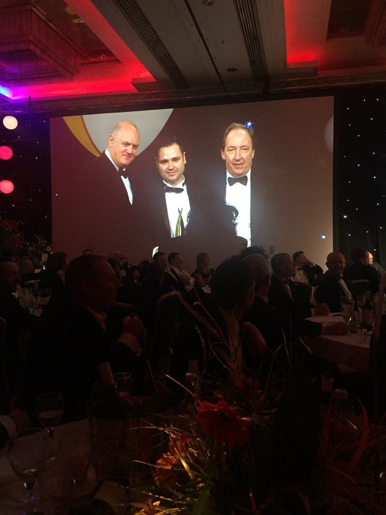 Another table winner for Hansgrohe!! Victor Paris win Showroom of the Year #kbbawards