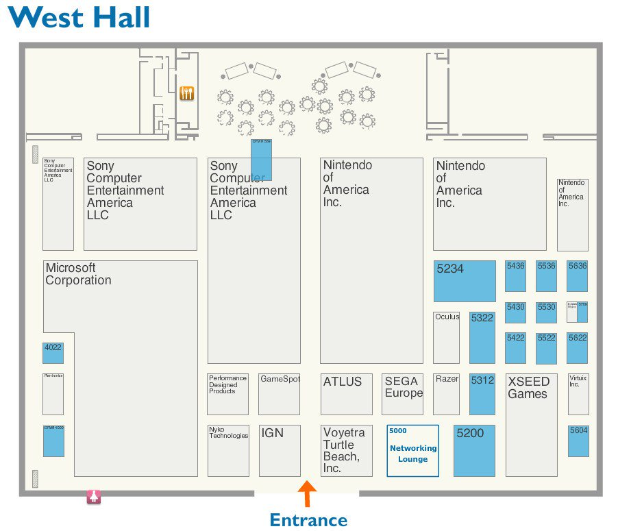 Persona Central On Twitter Prospective E3 2016 Floor Plan Indicates Atlus Booth Is Next To Sega Europe S Https T Co 88z6r5kn3a Https T Co Ys7voby0ut