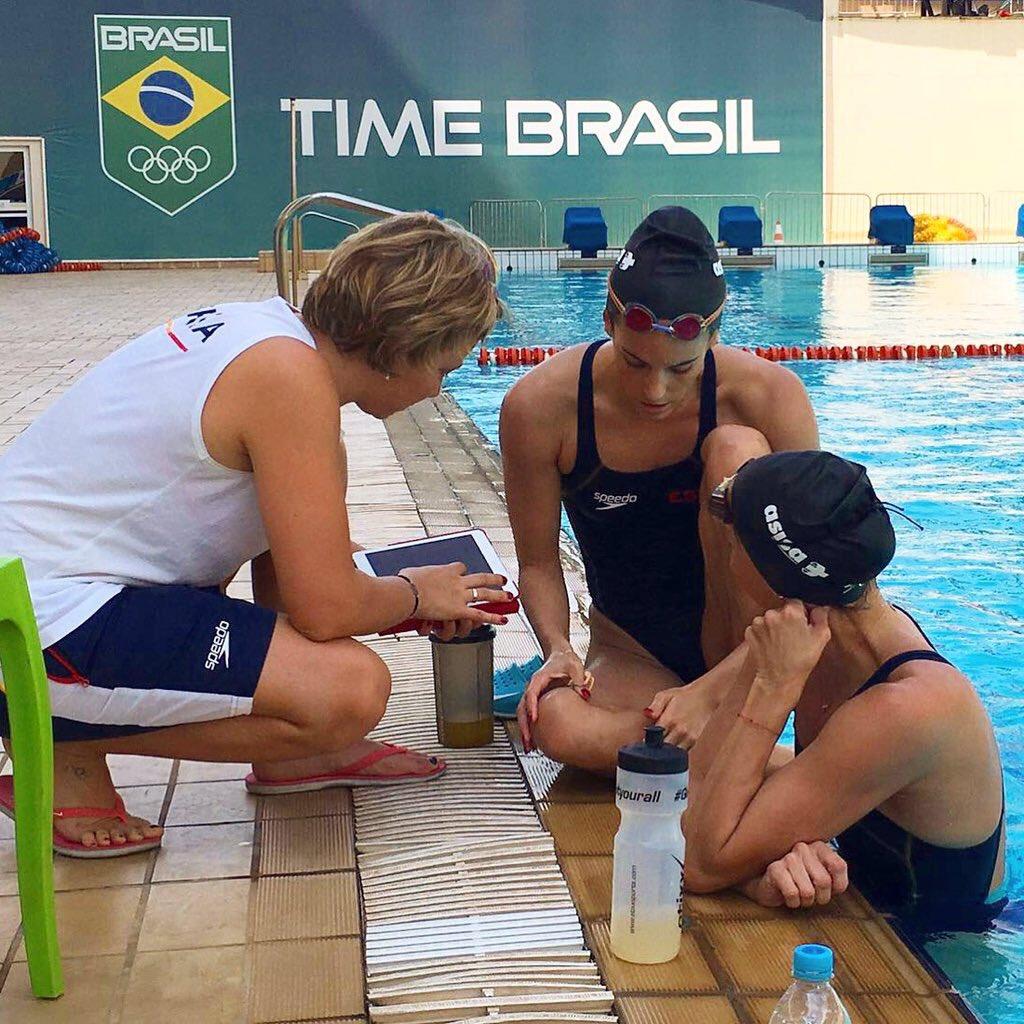 Muy grande @onacarbonell compitiendo en Río con vértigo tras sufrir golpe en la cabeza. Eso es compromiso.Equipo. https://t.co/P0N2zMZn55