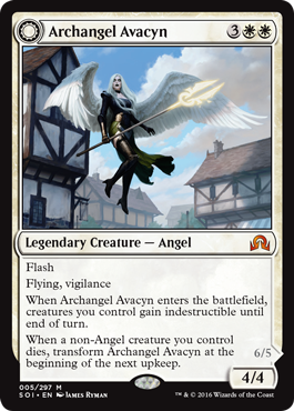 """Wings that once bore hope are now stained with blood. She is our guardian no longer."" #MTGSOI https://t.co/L0A6QLdule"
