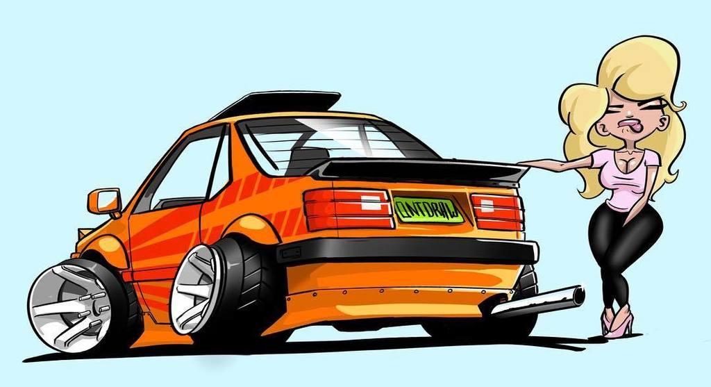 Mohamed Mediouni On Twitter When Your Car Cartoon Car Art