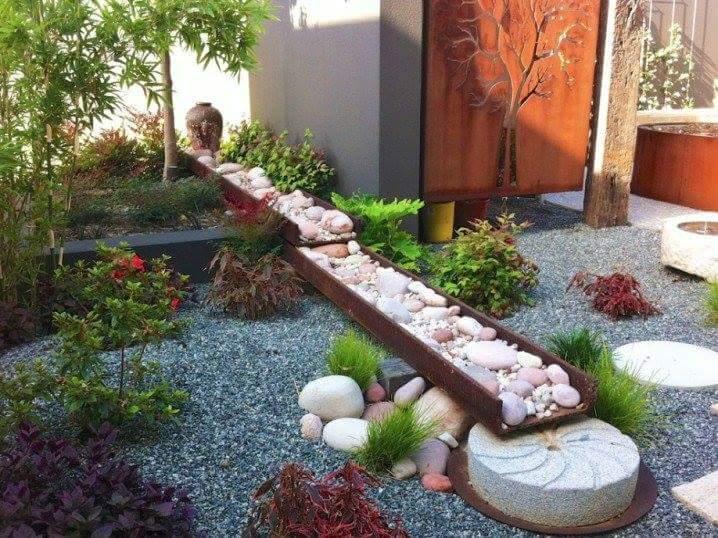 piccole idee per giardini zen