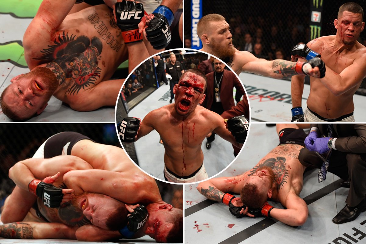 Conor McGregor DEFEATED by Nate Diaz in huge #UFC196 shock https://t.co/1FKo5vPbxd https://t.co/cCBDxL81ZY
