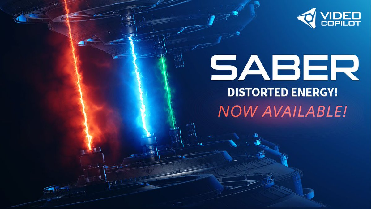 And we're Live! New Plug-in: SABER now Available! https://t.co/P83NGlDVoN https://t.co/OaS3tFNQQP
