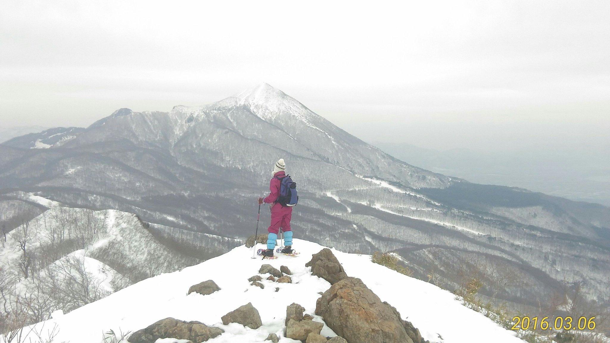 猫魔ヶ岳スノーハイク