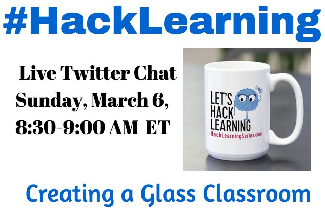 The only #education chat solving problems in 30 min. Retweet for a chance to win a bestselling #HackLearning book https://t.co/M9ybzmuQKH