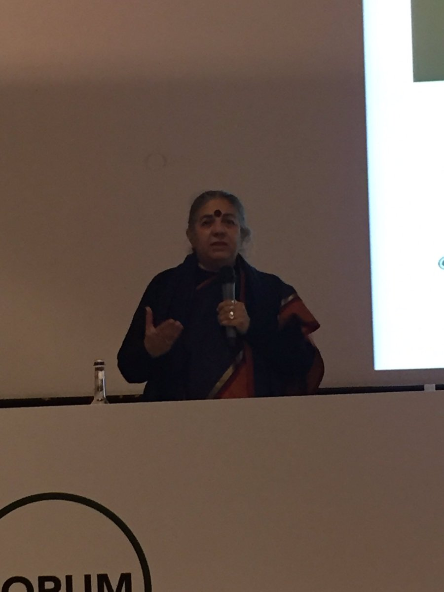 @ParabereForum WORLD listen to @drvandanashiva then you will understand why organic is a non disputable solution! https://t.co/RbHoOoDk0O