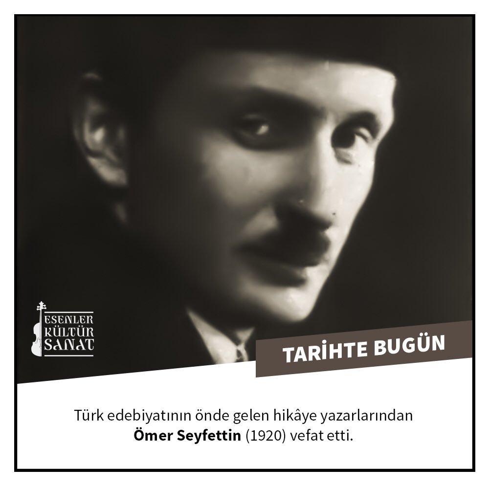 Ömer Seyfettin biyografi