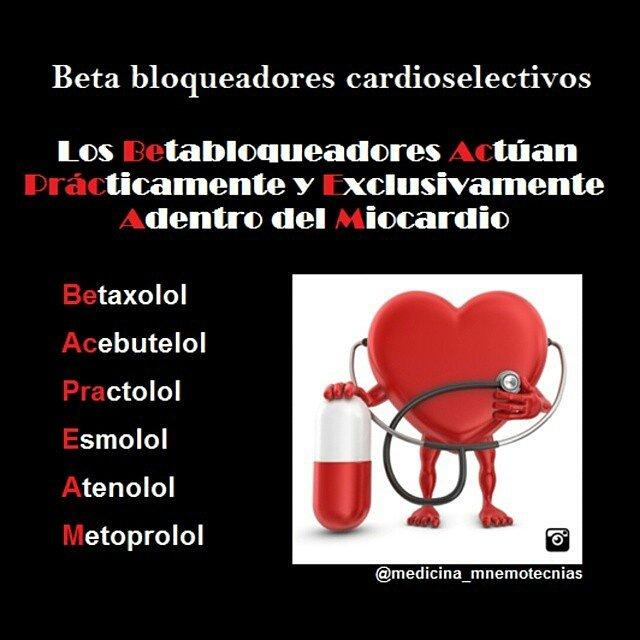 Medicamentos betabloqueadores - medicamentos bloqueadores beta