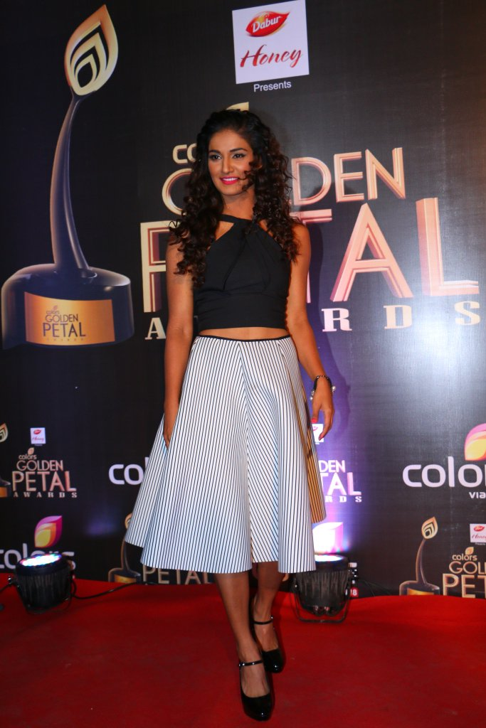 Mukti Mohan aka Colors Golden Petal Awards 2016 image-Picture, GPA 2016