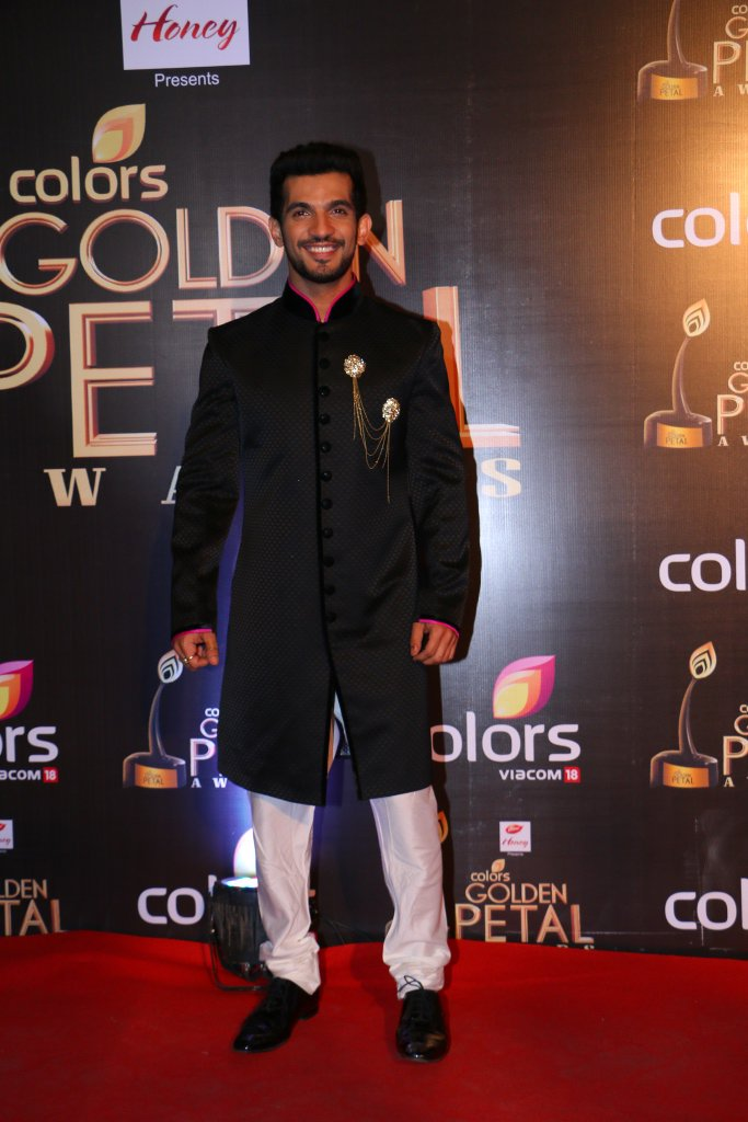 Arjun Bijlani aka Ritik of Naagin at Golden Petal Awards 2016 image-picture