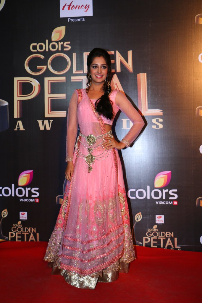 Dipika Samsaon aka Deepika Kakkar Simar of Sasural Simar Ka at Golden Petal Awards 2016 Image-Picture