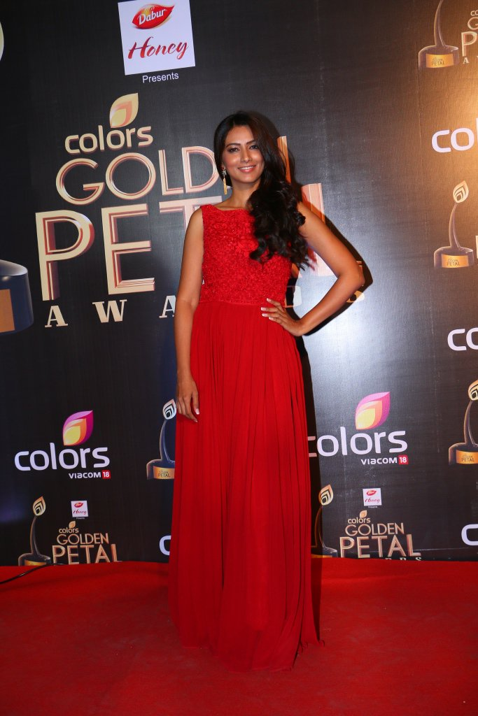Pallavi Subhash aka Devi Dharma at Golden Petal Awards 2016 Image-Picture