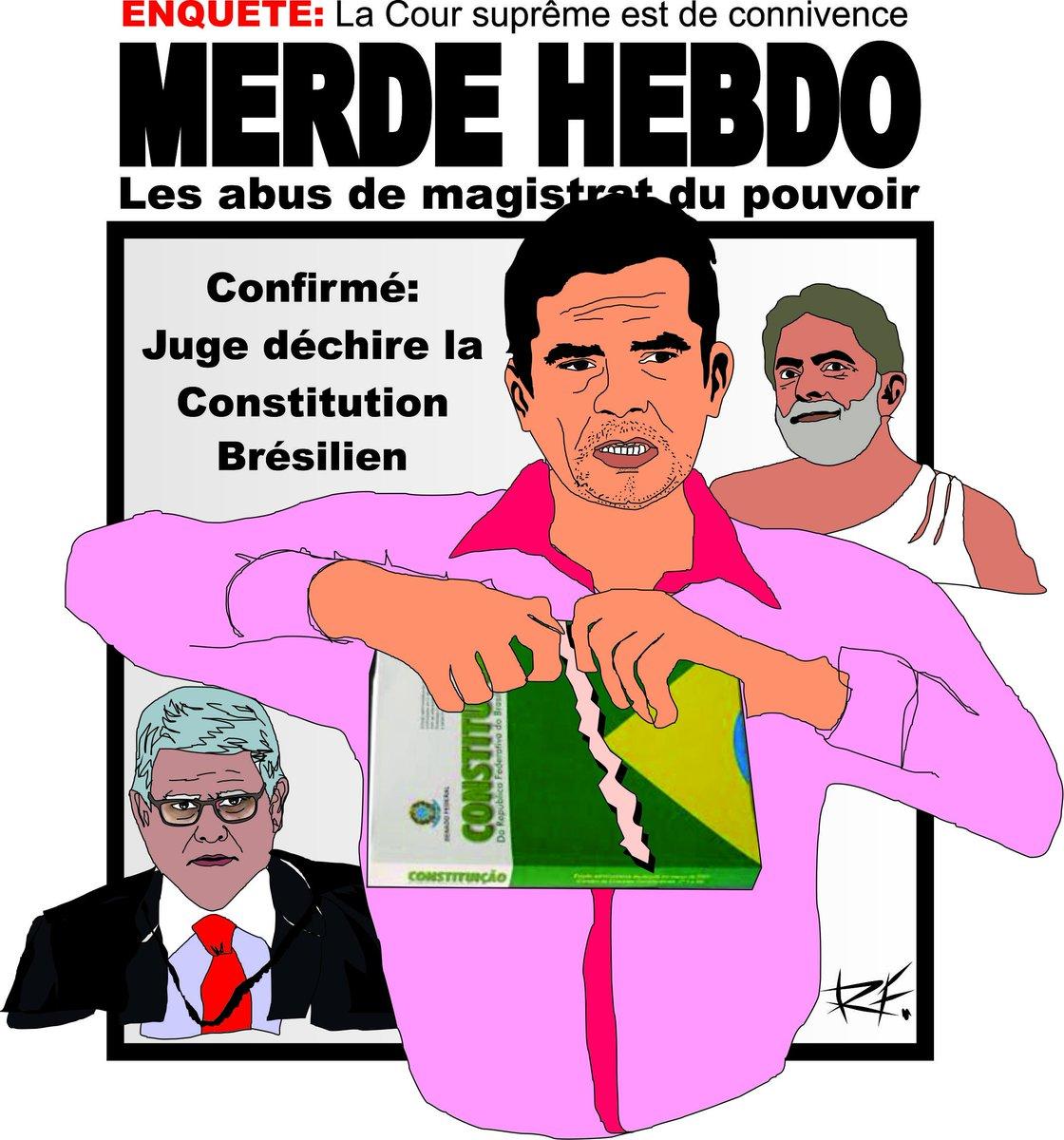 @fernandocabral @midiacrucis Justiçaria, estão rasgando a Constituição. https://t.co/QvRCxVeCBb https://t.co/2pnqymBae0