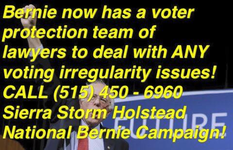 If you see #VoterFraud, REPORT and RECORD it! #VoteBernie #MississippiPrimary #MaineCaucus #BernieSanders #NotMeUs https://t.co/tF3oovTB0N