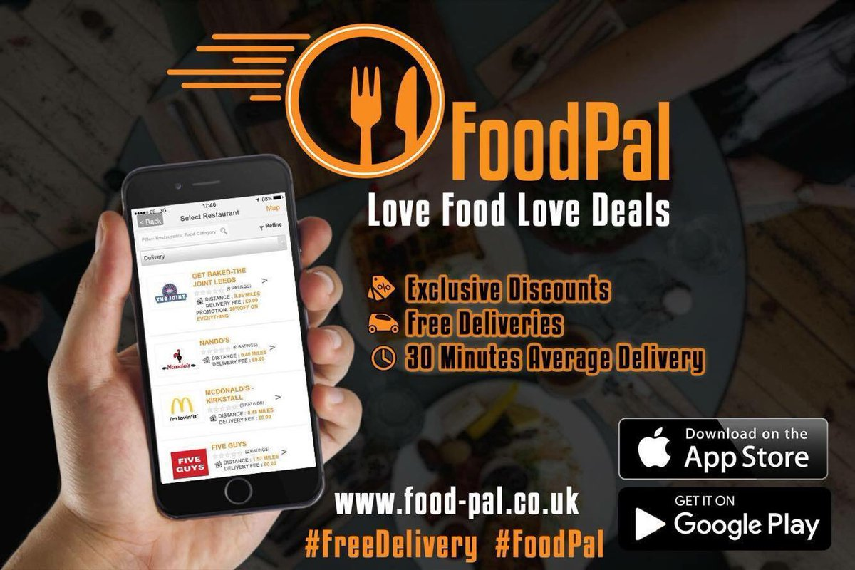 Foodpal On Twitter We Are Now Open For Orders Until 11 Pm Order From Your Fav Restaurants In Leeds Deliver Free