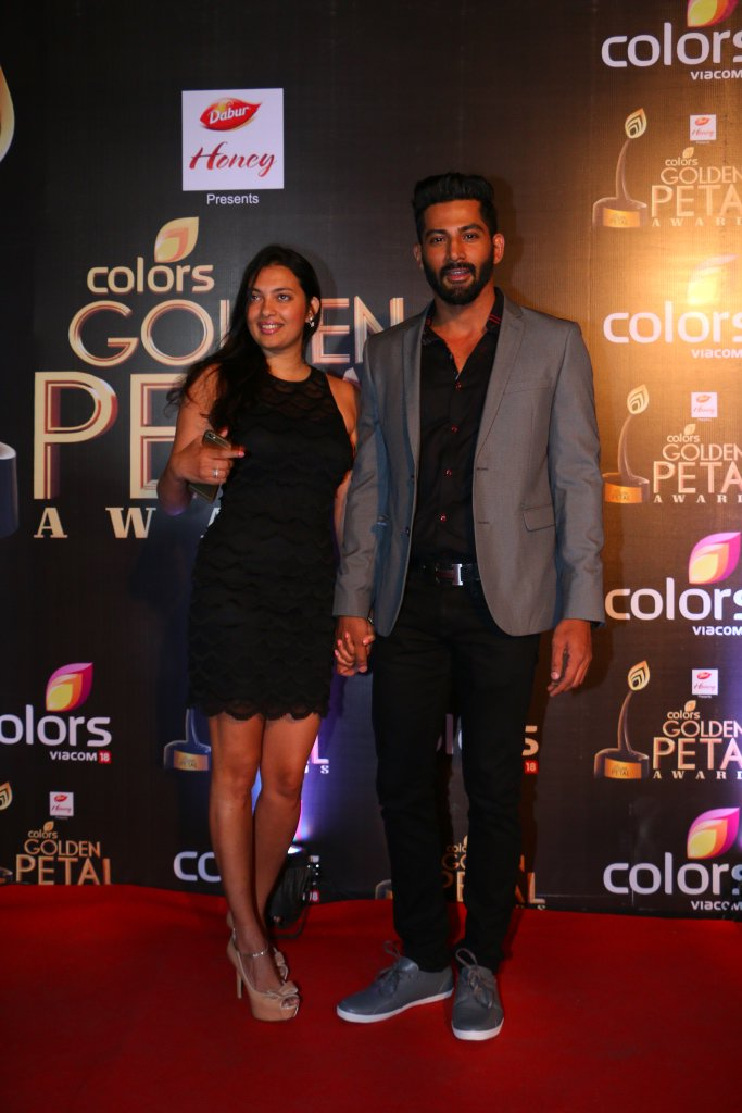 Vivan Bhatena at Colors Golden Petal Awards 2016 GPA 2016 Image-Photo