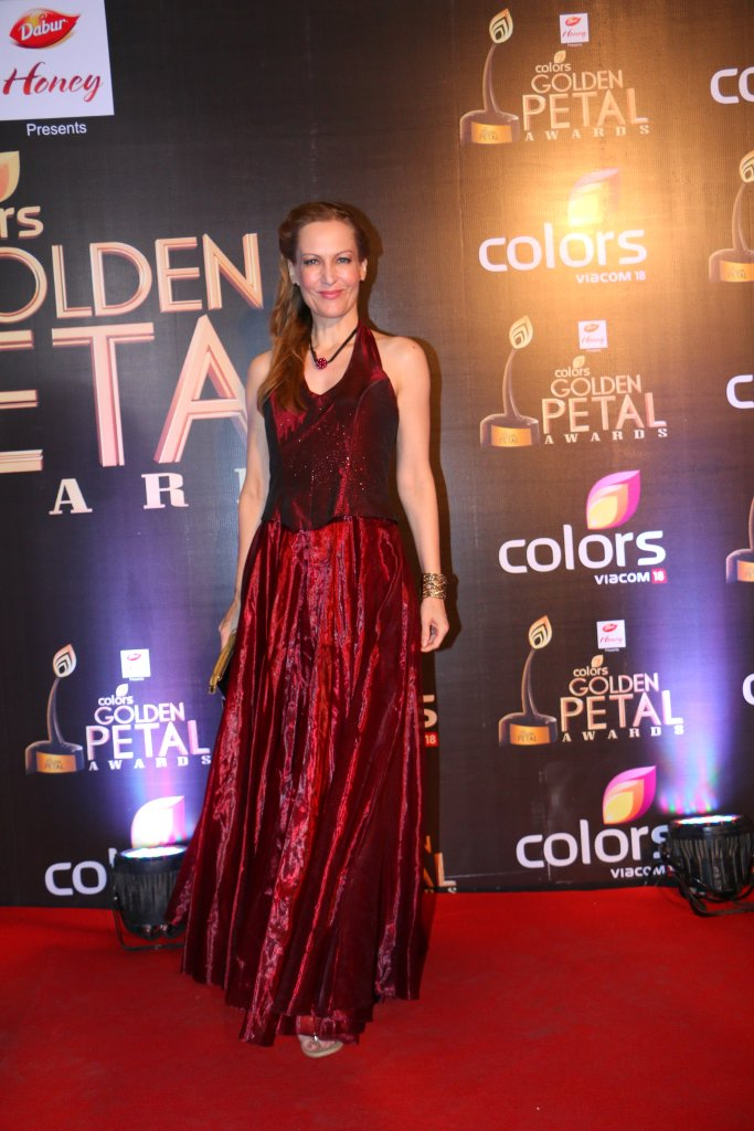 Suzanne Bernert aka Helena of Chakrvartin Ashoka Samrat at Golden petal Awards 2016, Images, pictures