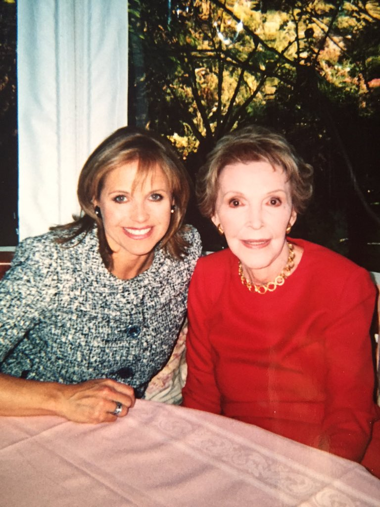 Nancy Reagan was a wonderful, elegant First Lady who loved her husband more than life itself. #RIPdearNancy https://t.co/vXosZ8mcNH