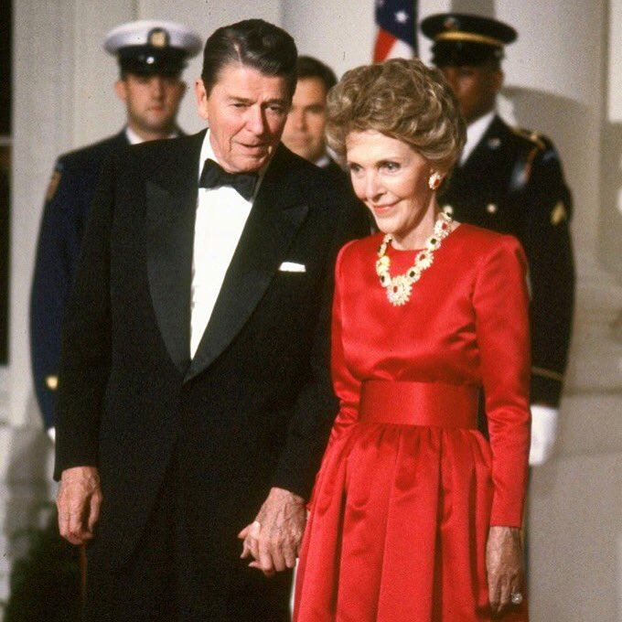 Nancy Reagan inspired us with strength & grace & we can all take comfort that she is with her sweet Ronnie again. https://t.co/oWGal9c9wK
